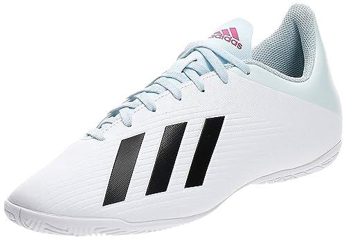 Gassoso Inevitabile vendita allasta  Buy adidas Men's X 19.4 in FTWR White/Core Black/Shock Pink Football  Shoes-9 UK (EF1620) at Amazon.in