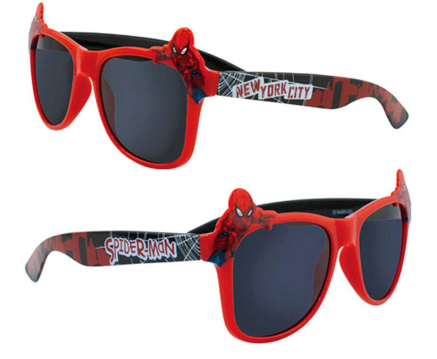 Childrens Sunglasses Marvel Spiderman Genuine Branded Product 100/% UV Rating SP21