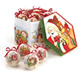 Home Locomotion Charming Snowman Ornament Set