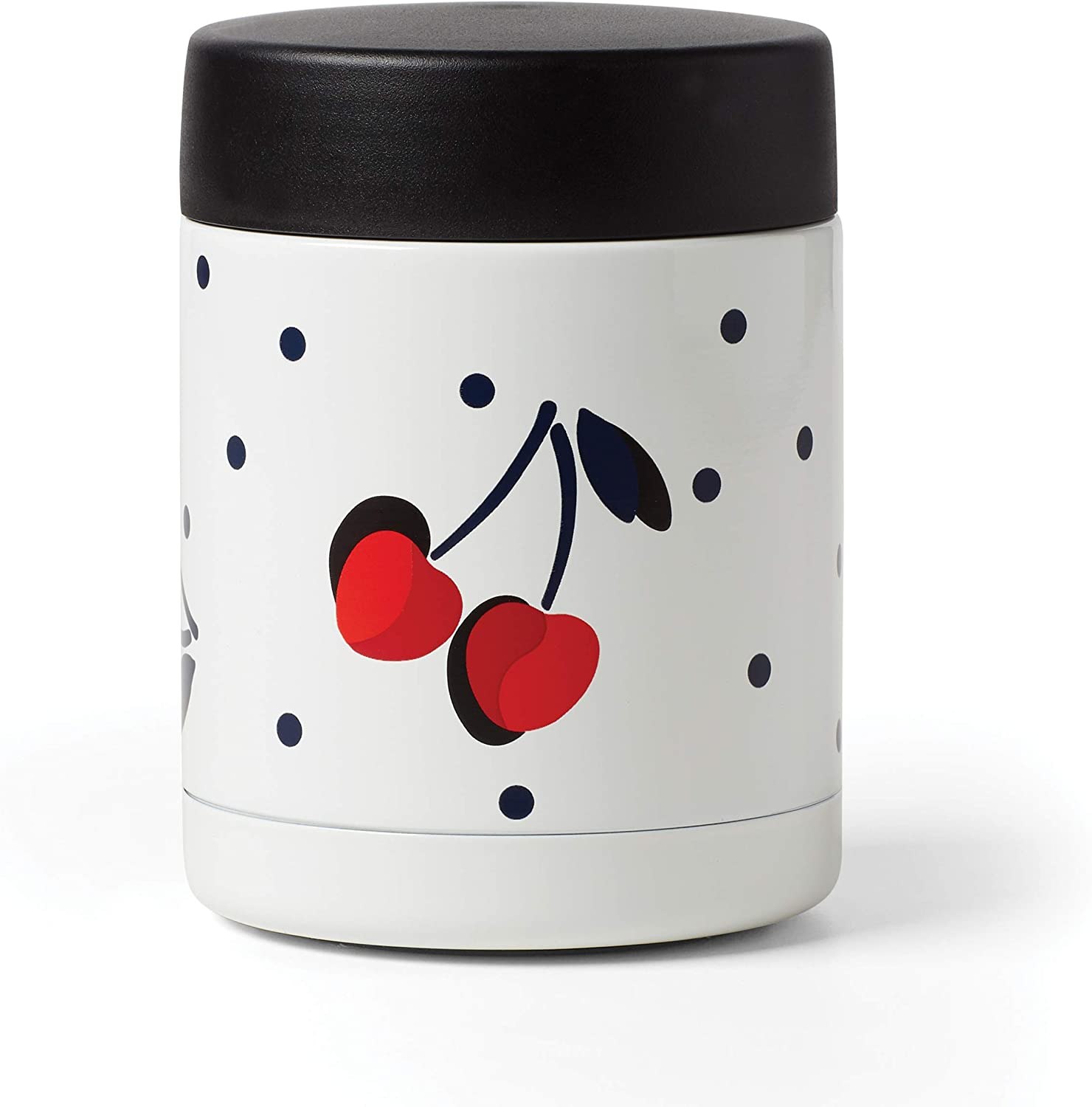KATE SPADE Vintage Cherry Dot Insulated Food Container, 0.70 LB, Multi