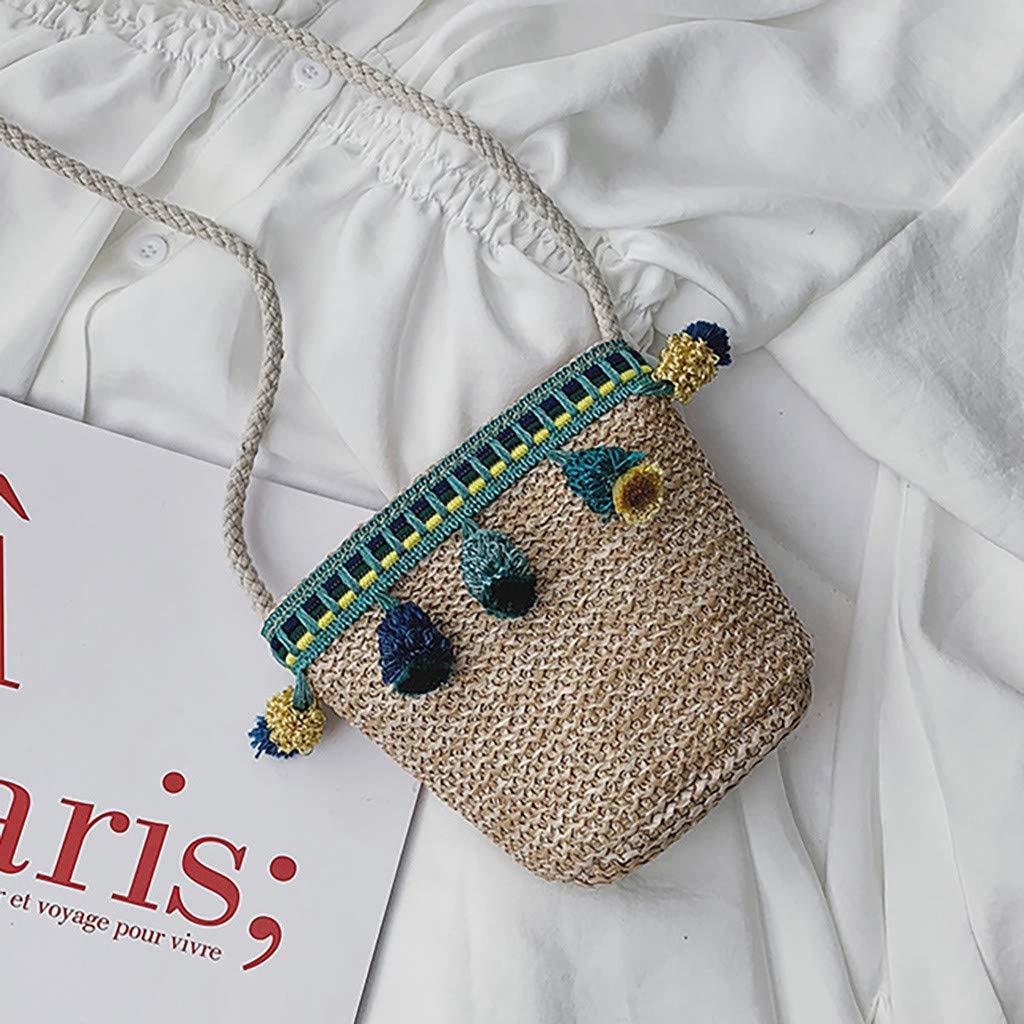 Amazon.com: Willow S Moda Niños Hombro Bandolera Weaving ...