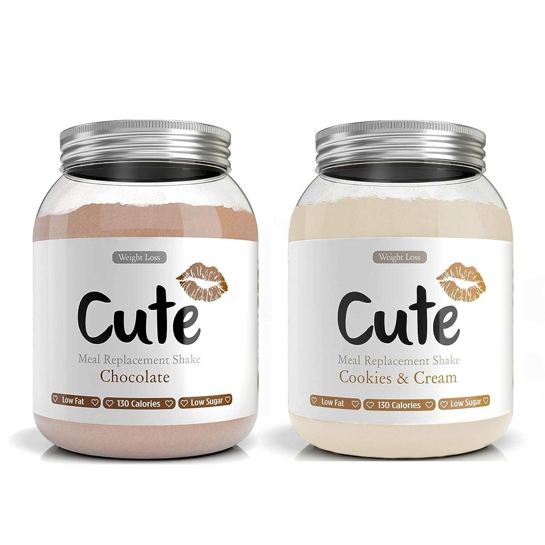 Cute Nutrition Chocolate y Galletas con Crema 2 Batidos de ...