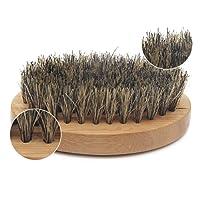 Aptoco Set balsamo per barba e olio per barba 100% naturali, spazzola e pettine per barba