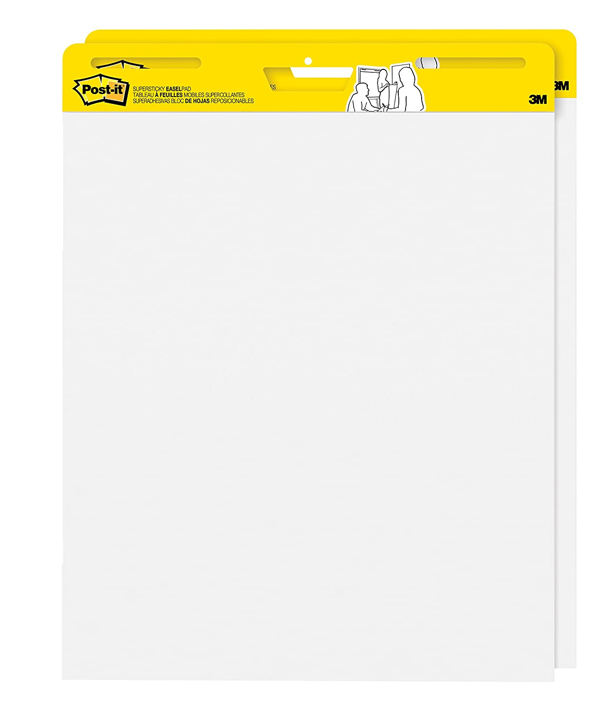 Amazon Postit SelfStick Easel Pad 25 x 305 Inches 30 – Lined Chart Paper