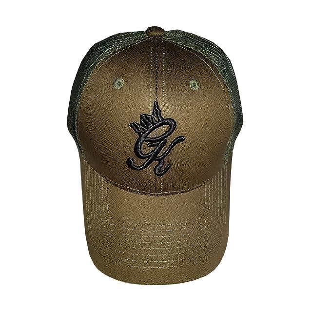 94853587ad158 New Gym King GK Signature Core Snapback Sports Cap Pitcher Baseball Cap  Khaki Clothing
