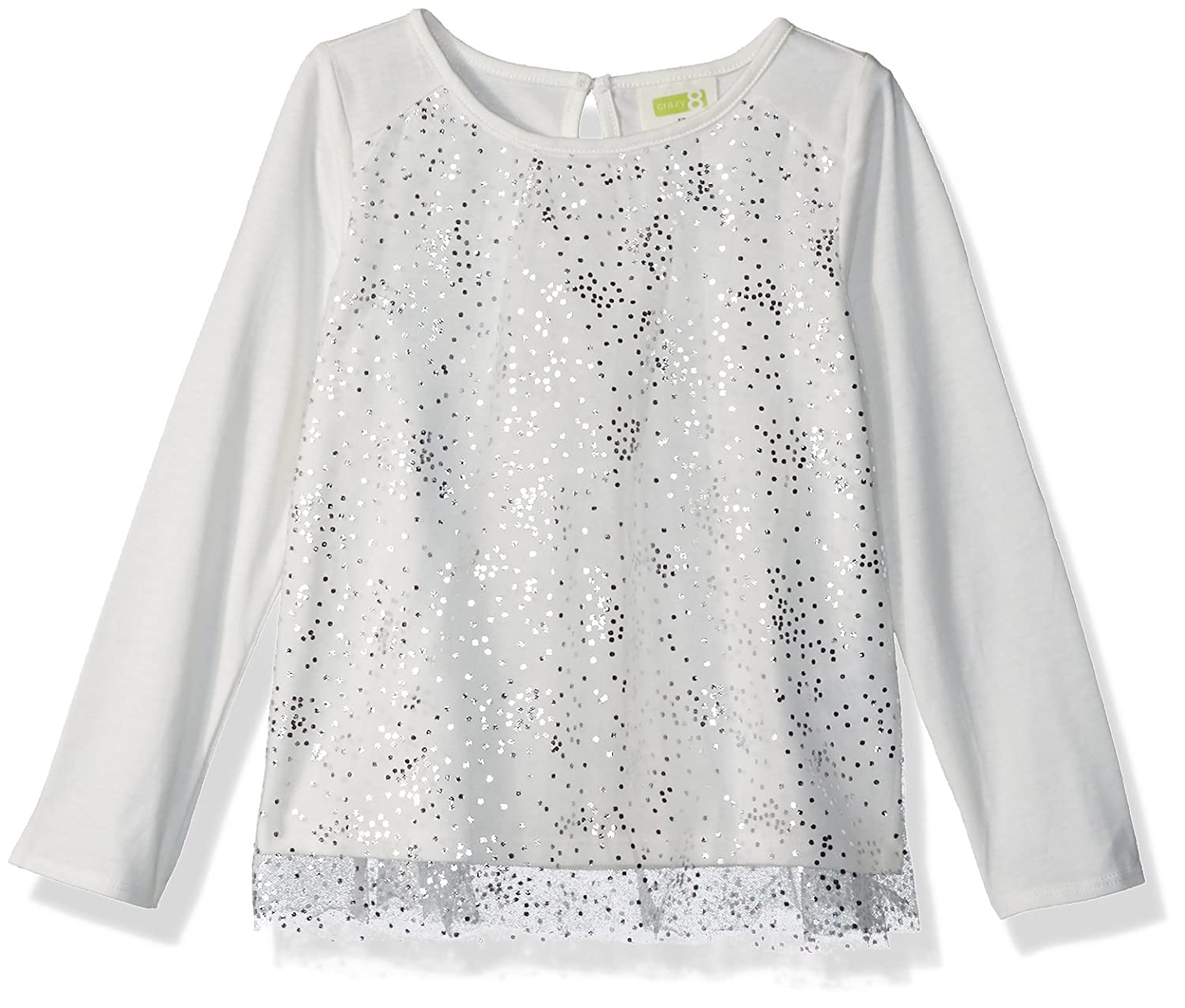 Crazy 8 Baby Girls Long Sleeve Tulle Tee