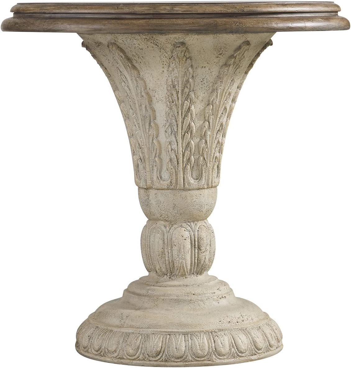 - Amazon.com: Hooker Furniture Solana Round Pedestal Accent Table In