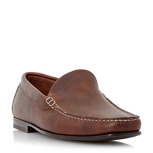 Roland Cartier - Mocasines de Piel para hombre Marrón canela: Amazon.es: Zapatos y complementos