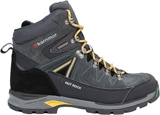 really cheap big sale presenting Karrimor Mens Hot Rock Walking Boots Lace Up Waterproof: Amazon.co ...