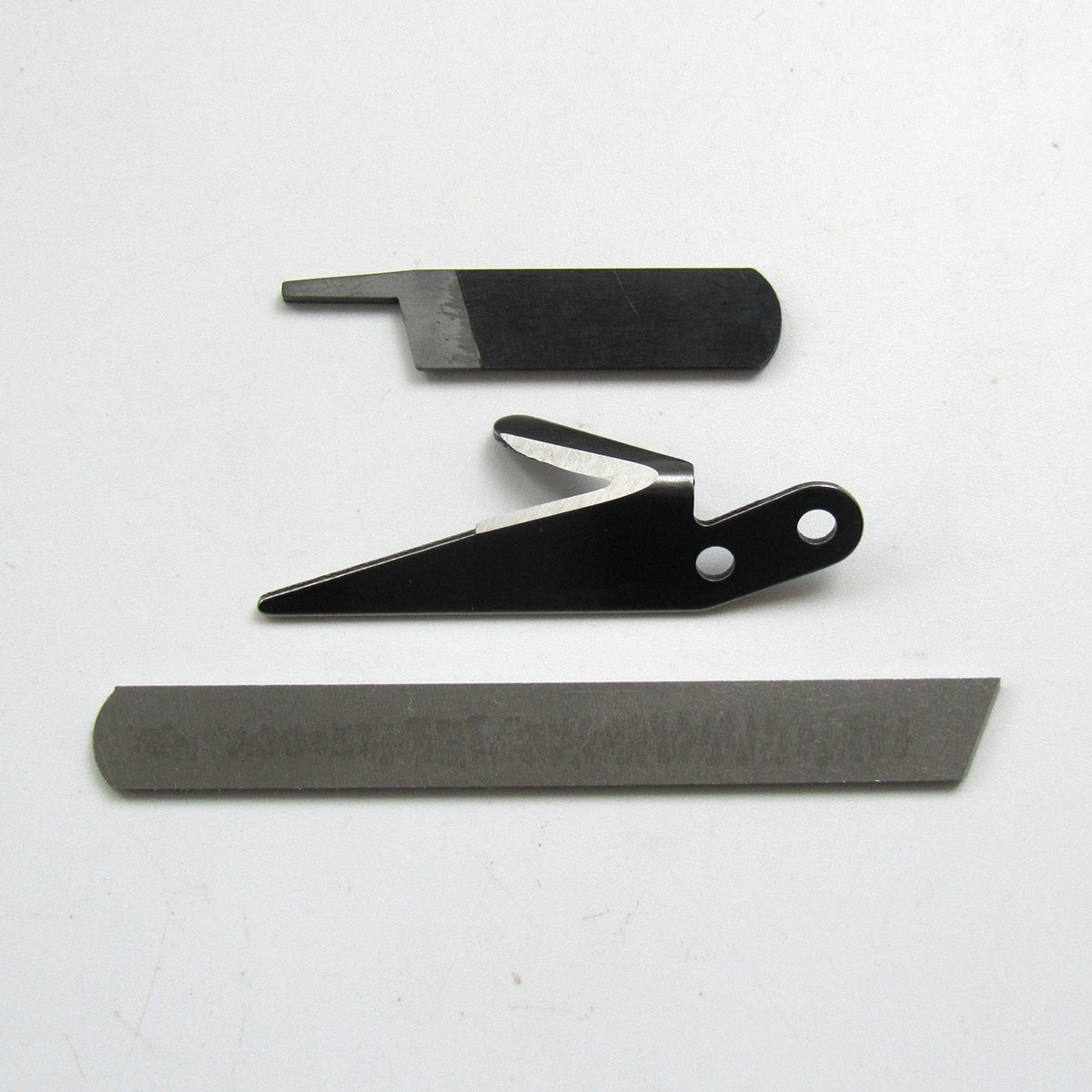 KUNPENG - # 32914 + 30421 + 32706 1conjunto KNIFE SET 3 OVERLOCK KNIVES - para YAMATO DCZ-361: Amazon.es: Hogar