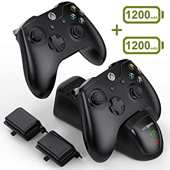 Amazon.com: VOGEK Xbox Charger Station Xbox One Charging ...