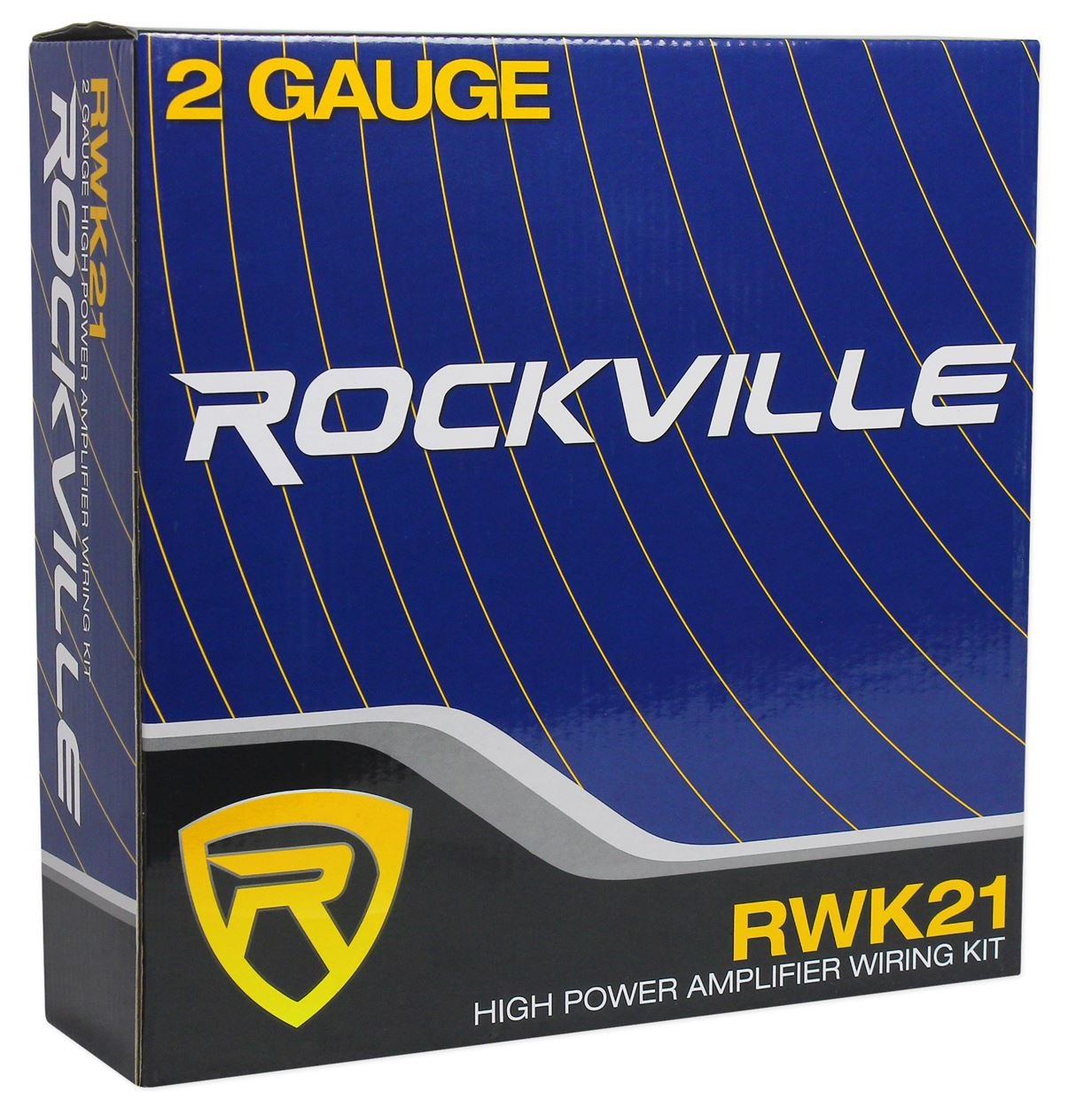 Rockville Rwk41 4 Gauge Complete Car Amp Wiring Installation Wire Amplifier Kit W Rcas Audiosavings