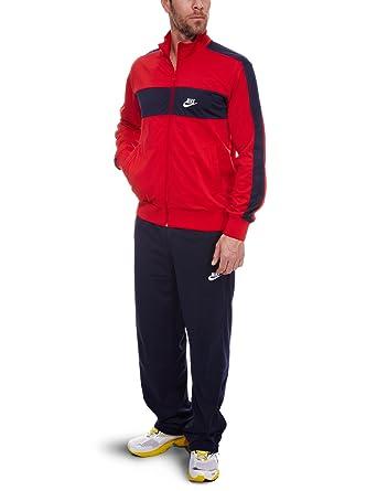 Nike Poly Traje de Calentamiento, Hombre, Rojo/Azul, Medium ...