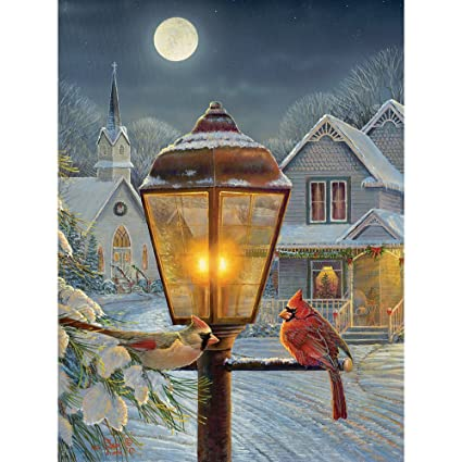bits and pieces 300 large piece jigsaw puzzle for adults christmas lights 300