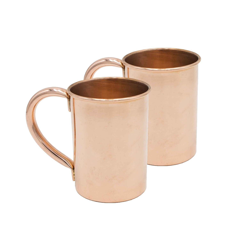 Sinkology SHB01-MSC-2 Extra Thick Moscow Mule Mug (Set of 2), Copper, 20 oz
