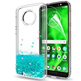 Moto G6 Glitter Case with HD Screen Protector for