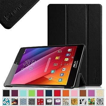 Fintie ASUS ZenPad S 8.0 Funda - Ultra Slim Smart Case Funda Carcasa con Stand Función y Auto-Sueño / Estelar para Asus ZenPad S 8.0 Z580CA / Z580C 8 Pulgadas Tablet, Negro