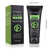 Yovanpur Black Mask, Charcoal Peel Off