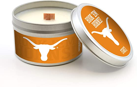 Worthy Promo NCAA LSU Tigers Scented Candle Sweet Peach 5.8 Oz