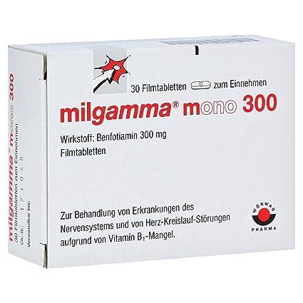 Mono MILGAMMA 300 comprimidos recubiertos con película 30 St comprimidos recubiertos con película