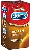 Durex RealFeel 12 latexfreie Kondome aus Polyisopren