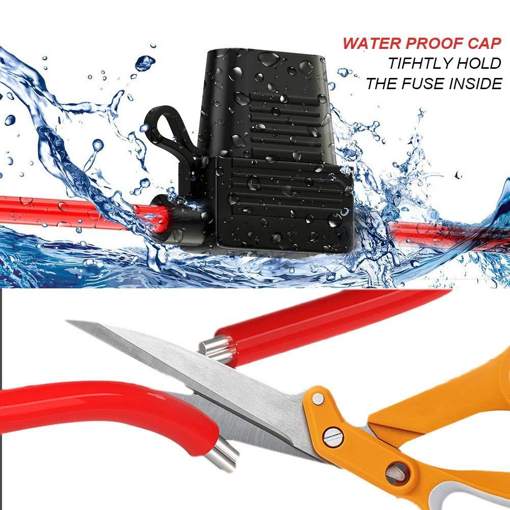 Rubyu 10Pcs Auto Aufger/üstet Sicherungskasten Unabh/ängiger Betrieb Wasserdicht Sicherungshalter Flachsicherungen Sicherungsdose Sicherungstr/äger