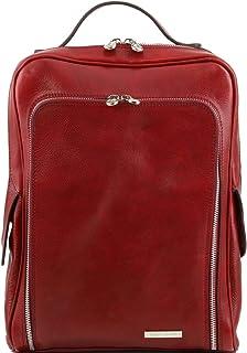 Tuscany Leather Bangkok Sac à dos en cuir porte ordinateur Marron 1289_1_1
