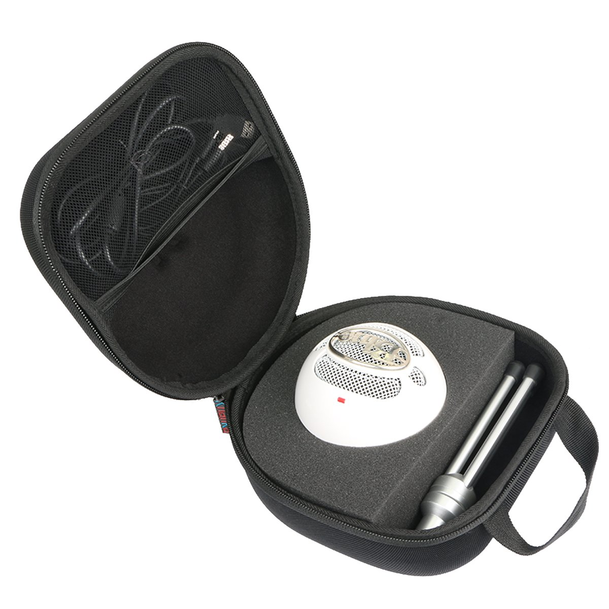 For Blue Snowball iCE Condenser Microphone, Cardioid Hard Case by Khanka