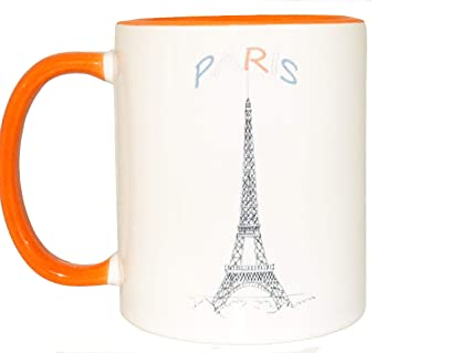 Him Funny Tea Gift Eiffel Paris Unique Birthday MugCoffee Ceramic France Tower For Mug Cup PNk08nwOXZ