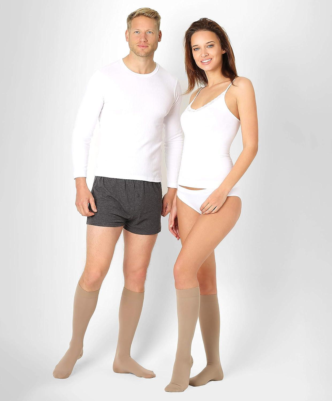 maternit/à Gravidanza Donna Viaggi 3//5 Paia di Calze a Compressione Ideale per Running Crossfit Infermiere HLTPRO Calze a Compressione per Uomo e Donna 20-30 mmHg