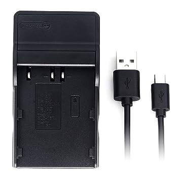 D-Li50 USB Cargador para Pentax K10, K10D, K10D GP, K10D Grand Prix, K20D batería de la cámara