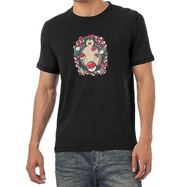 Texlab American Snore - Herren T-Shirt, Größe XXL, Schwarz