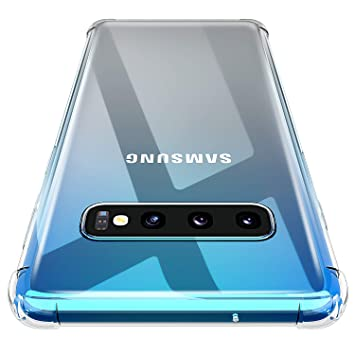 AINOYA Galaxy S10 Plus Case, [HGH-Quality] [Personalized] [Lovely] [Shock Absorption Technology] [Drop Cushion] Raised Bezels Slim Protective Cover ...