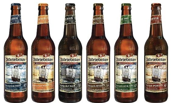 6 Flaschen Störtebeker Schatzkiste A 05l Inc 048 Mehrweg Pfand