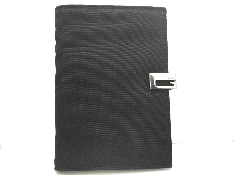 (グッチ) GUCCI 手帳 黒×シルバー 310416 【中古】 B07FKRRYCK