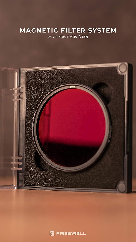 GND16//PL Hybrid C/ámara Filtro Freewell Magn/ético Borde Suave Sistema 77mm Intercambio R/ápido Gradiente ND1.2//PL
