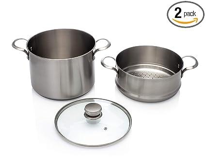 Amazon.com: Frigidaire ReadyCook - Batería de cocina (acero ...