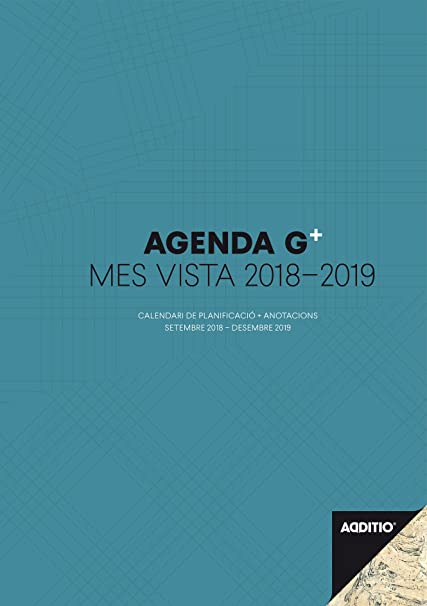 Amazon.com : additio p181-p - Agenda G Plus 2018 - 2019 ...