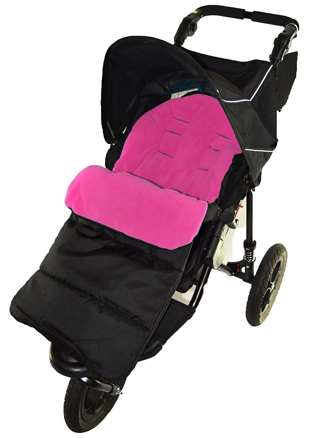 Footmuff//Cosy Toes Compatible with Mountain Buugy Terrain Pushchair Pink Rose