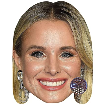 Card Face and Fancy Dress Mask Celebrity Mask Keith Urban Smile