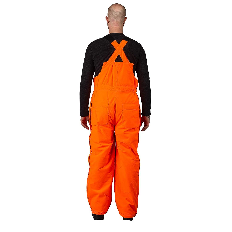 293d8d462fc22 TrailCrest Men's Insulated & Waterproof Blaze Orange Bib Overalls, L, Blaze  Orange: Amazon.ca: Sports & Outdoors