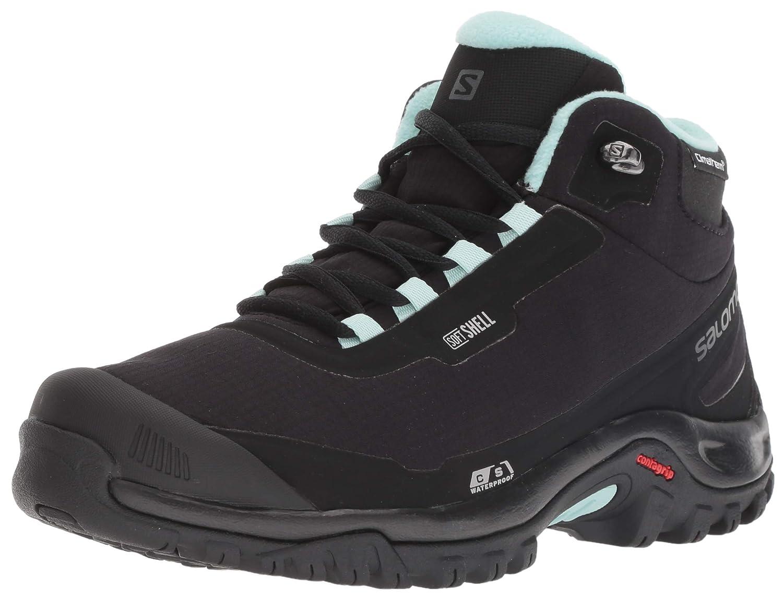Salomon Shelter CS WP Shoes Women BlackBlackEggshell Blue 2018 Schuhe