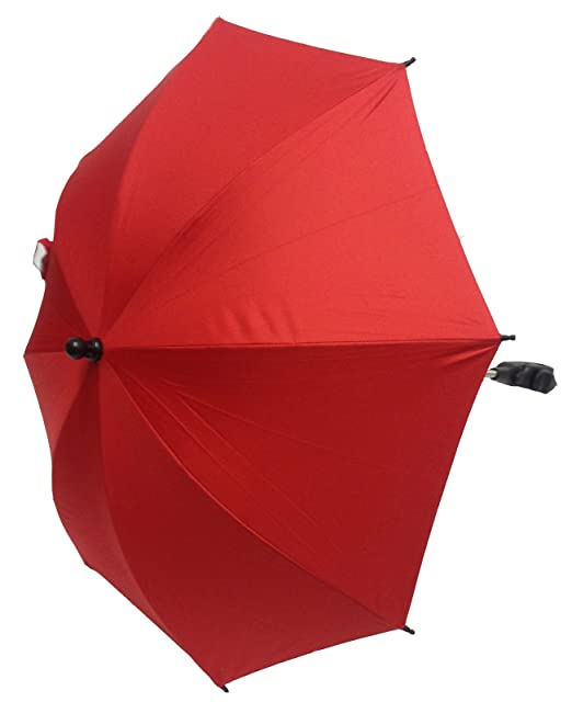 Bebé Sombrilla Compatible con Mamas y Papas carrito para cochecito de bebé, color rojo