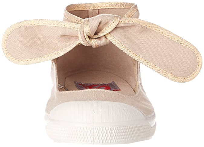 a552add0089af3 Bensimon - F15092C189 - TENNIS FLO SHINYPIPING - Baskets - Femme - Beige (Beige  Coquille) - 41 EU: Amazon.fr: Chaussures et Sacs