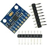 GY-521 MPU-6050 MPU6050 3 Axis Accelerometer Gyroscope Module 6 DOF 6-axis Accelerometer Gyroscope Sensor Module 16 Bit AD Converter Data Output IIC I2C