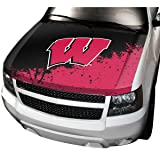 ProMark NCAA Wisconsin Auto Hood Cover, One