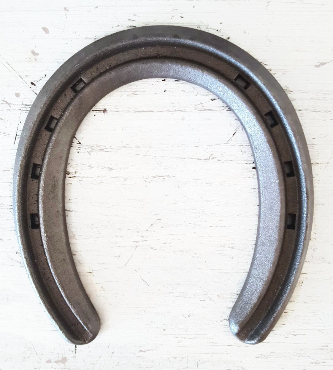 New Steel Horseshoes - Lite Rim Size 00 -Sand Blasted- Heritage Forge - 2 Shoes