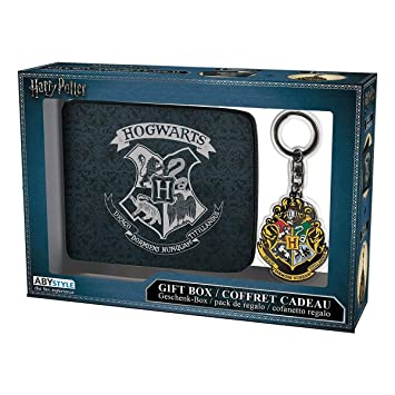 ABYstyle Harry Potter Cartera con Llavero Hogwarts, abypck109