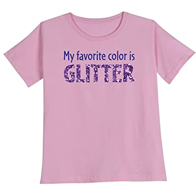 Amazon.com: Women's My Favorite Color Is Glitter Shirts: Clothing