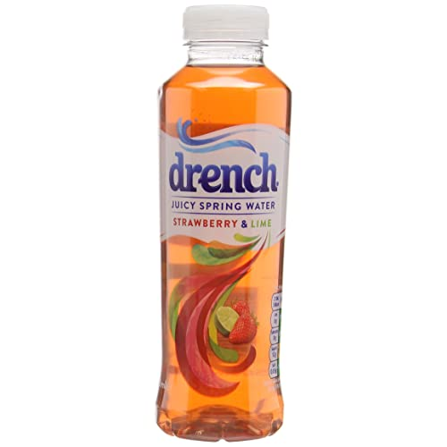 Drench Strawberry & Lime, 500 ml (Pack of 12)